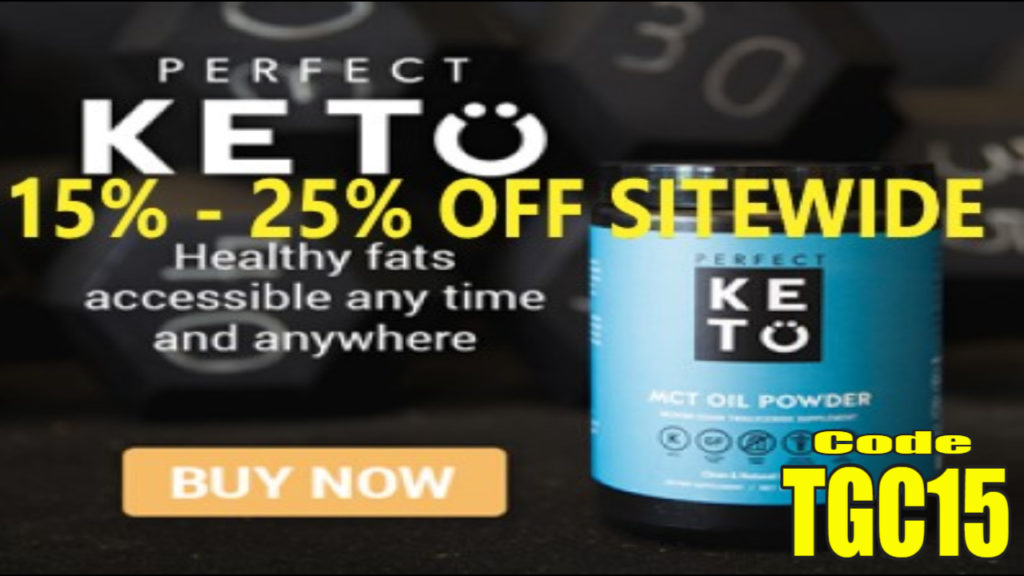 Perfect keto coupon code TGC15 Promo Code Special deal saving thattopten thegreencabby